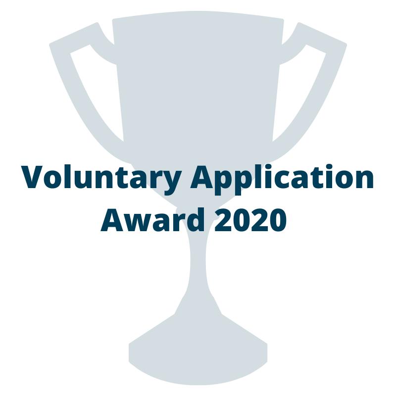 Voluntary Application Award 2020